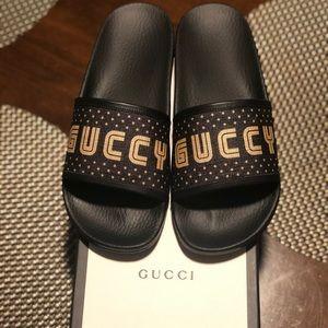 Gucci Pursuit Gucci Slides